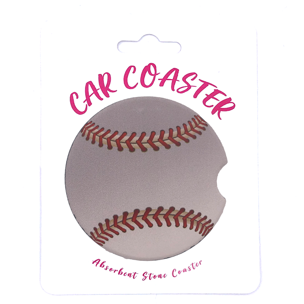 C28 - Car Coaster Baseball
