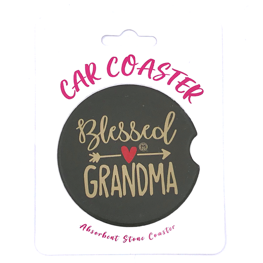 C5 - Car Coaster Blessed Grandma