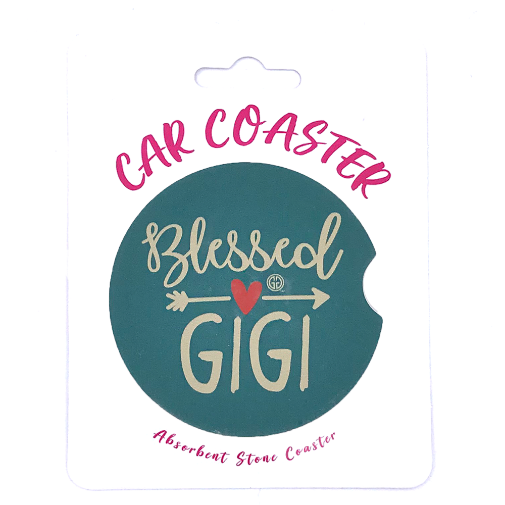 C6 - Car Coaster Blessed GIGI