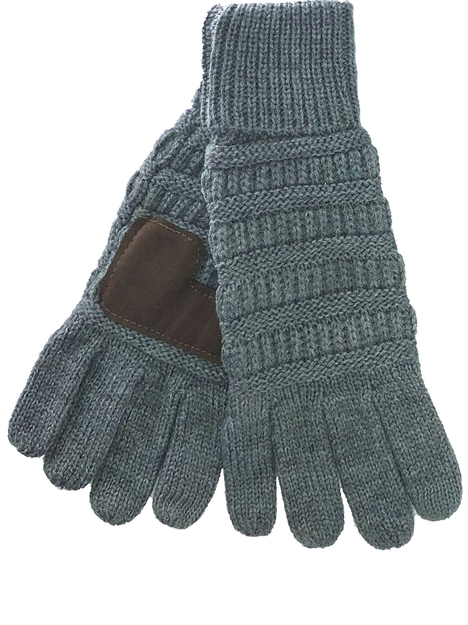 G-20 C.C Light Melange Grey Gloves