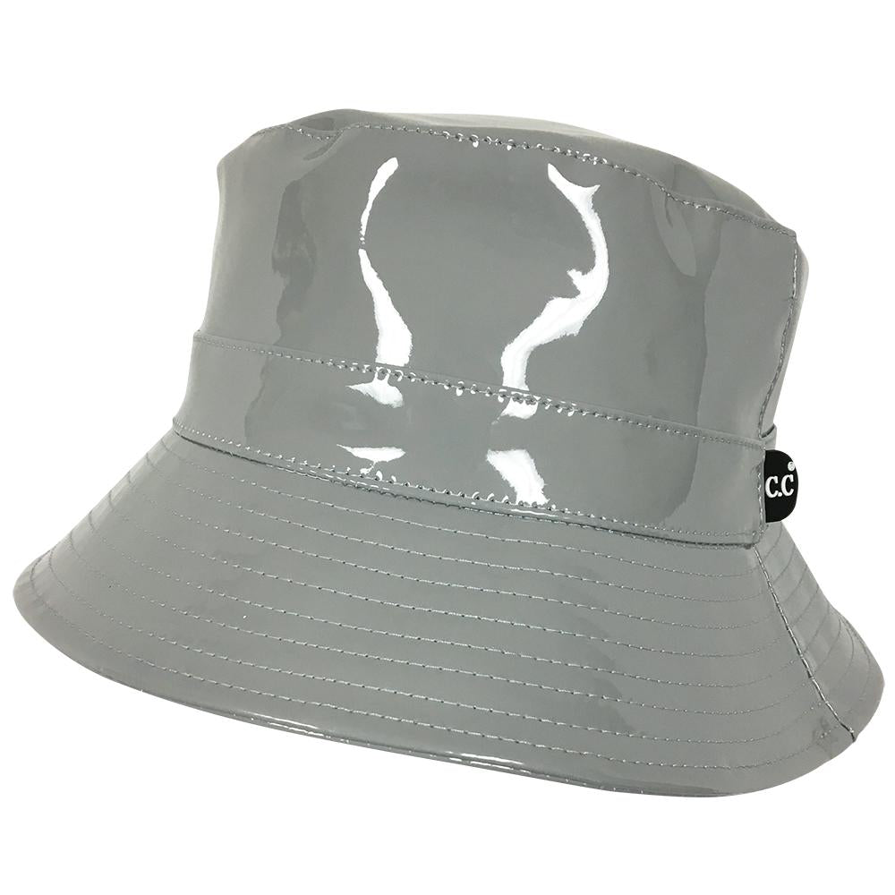 C.C Rain Bucket Hat- Grey