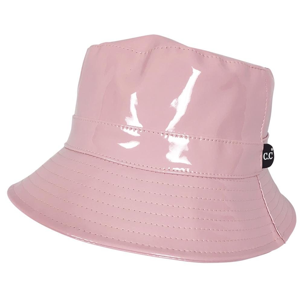 C.C Rain Bucket Hat-Rose