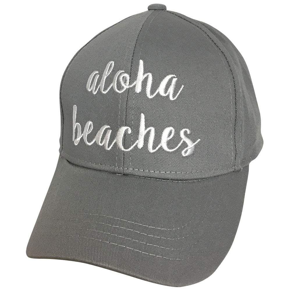 BA-2017 C.C Aloha Beaches Grey Cap
