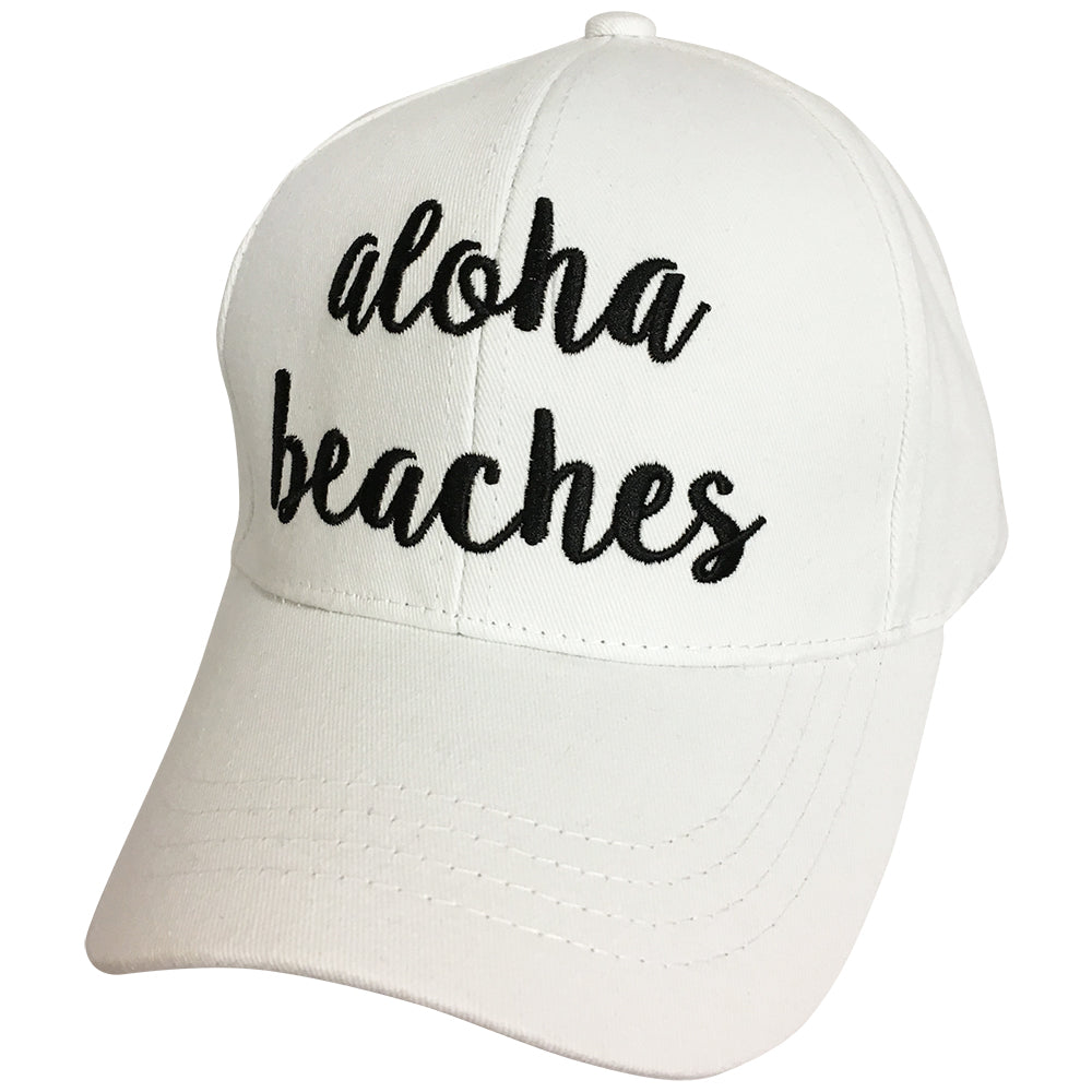 BA-2017 C.C Aloha Beaches White Cap