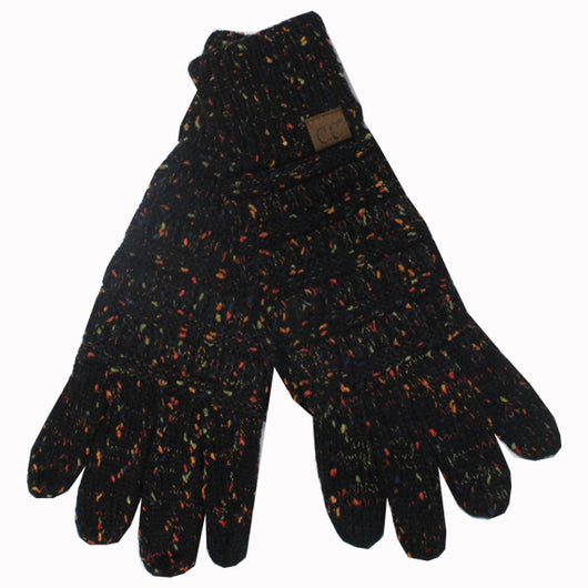 G-33 C.C Black Speckled Gloves