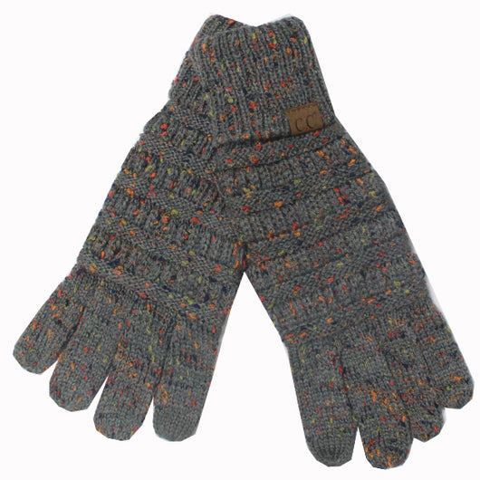 G-33 C.C Dark Melange Speckled Gloves