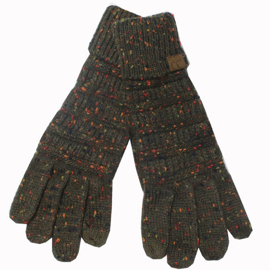 G-33 C.C New Olive Speckled Gloves