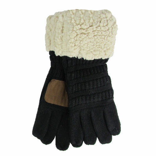 G-88 Sherpa Gloves Black/Taupe