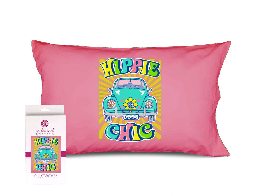 PC-Hippie Chic Pillowcase