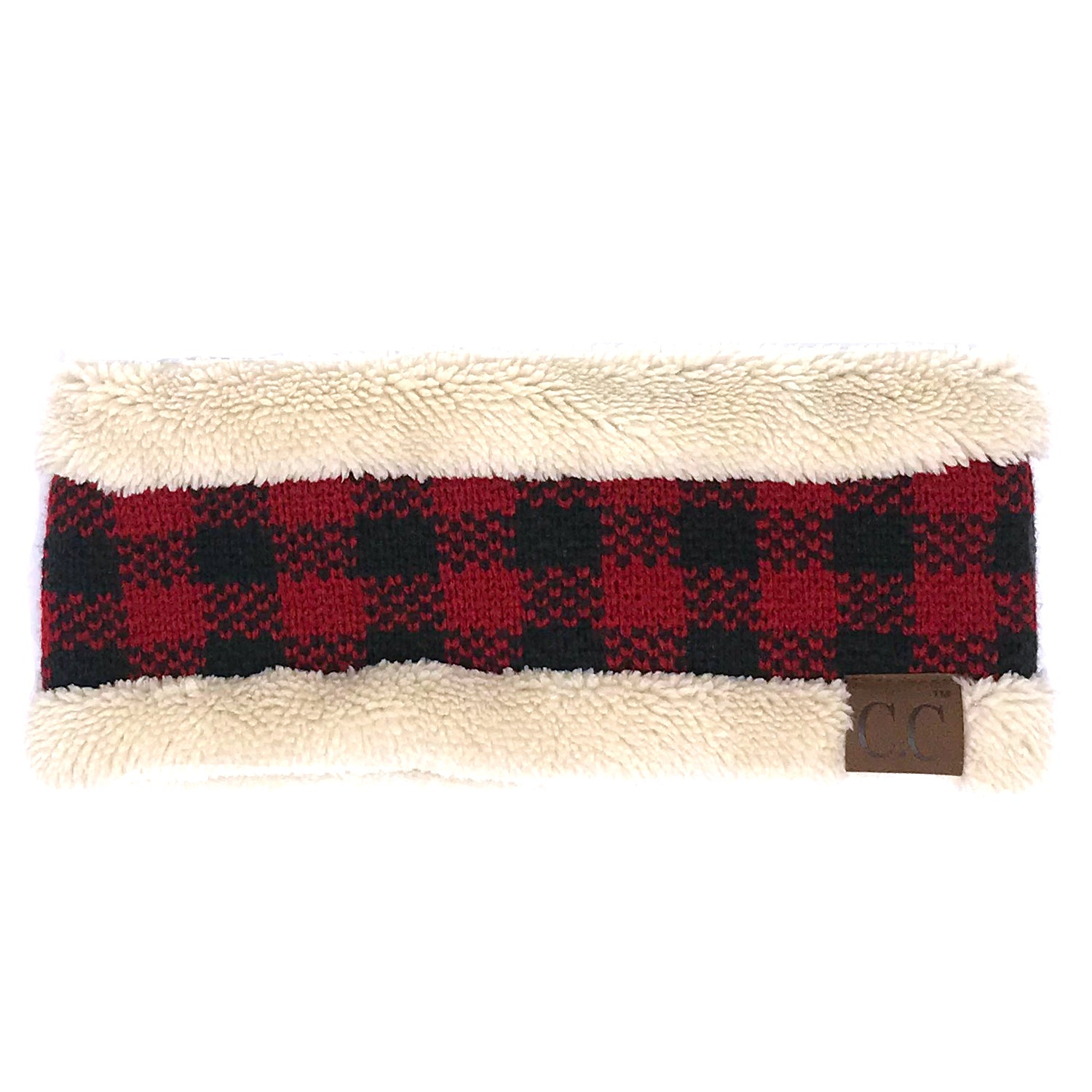 HW-17 BUFFALO PLAID BEIGE RED/BLACK