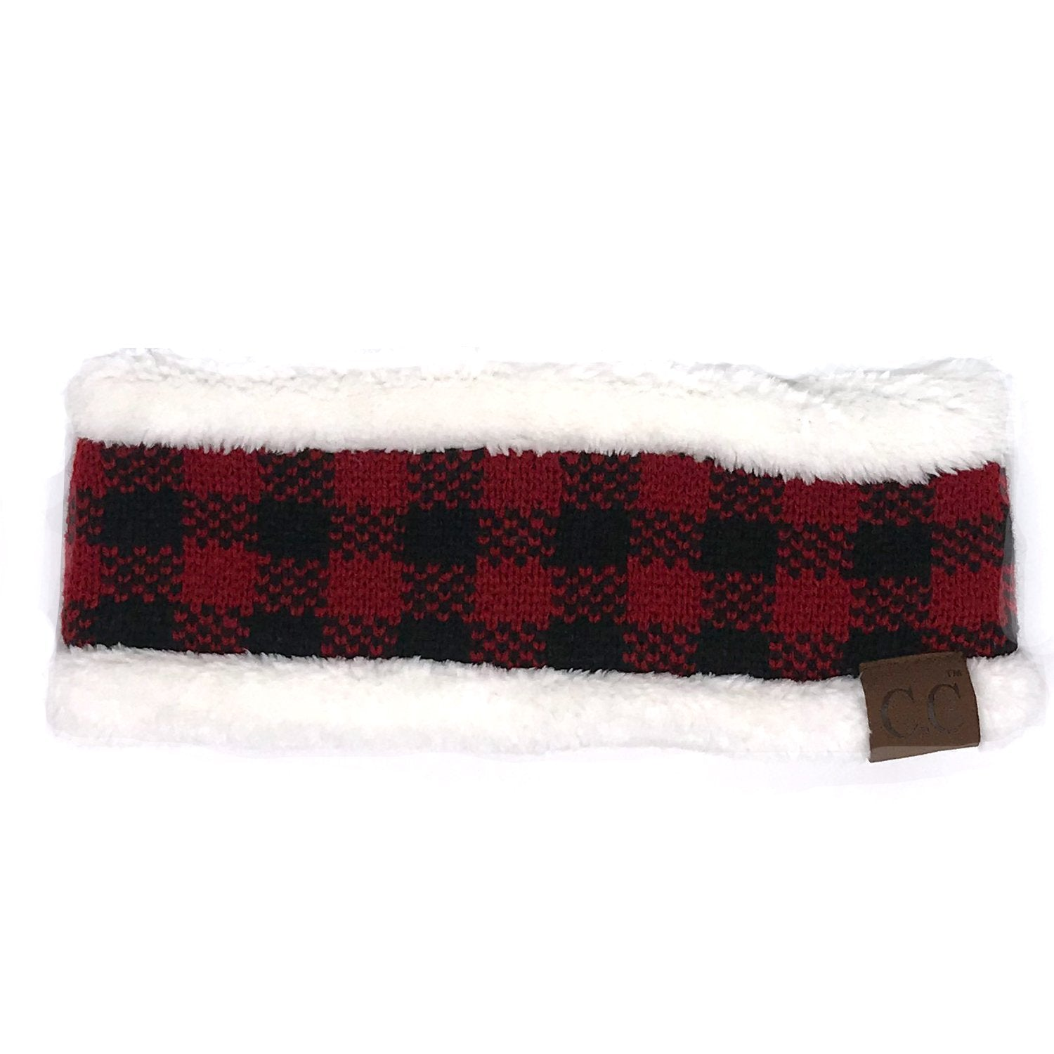 HW-17 BUFFALO PLAID IVORY RED/BLACK