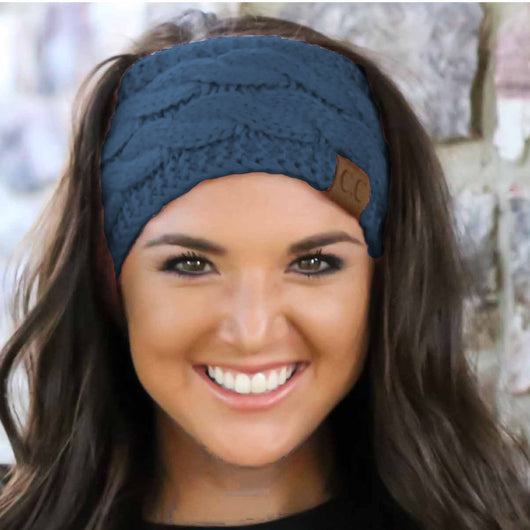 HW-20 DARK DENIM HEADWRAP