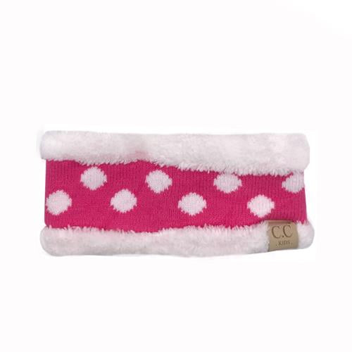 PD-HW-21 KIDS  HEADWRAP New Candy Pink
