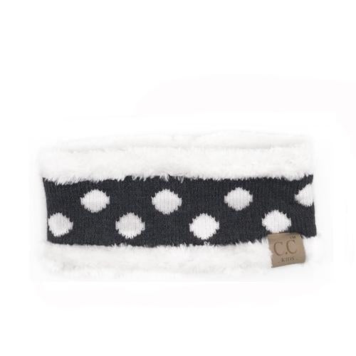 PD-HW-21 KIDS  HEADWRAP Dark Melange