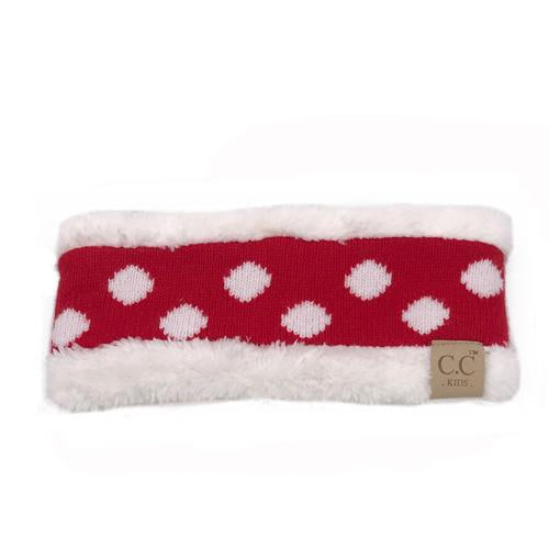 PD-HW-21 KIDS  HEADWRAP Red