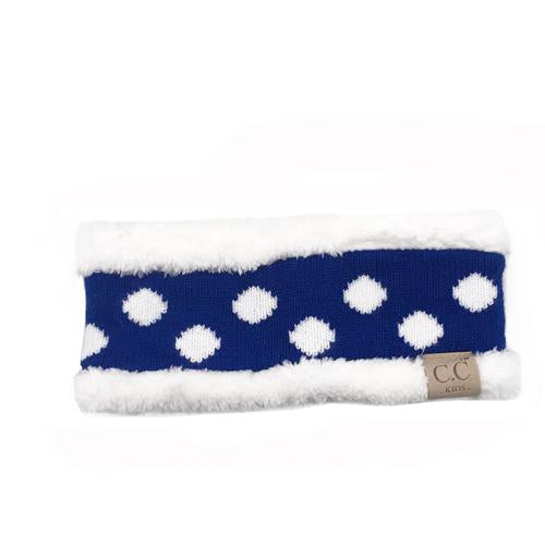 PD-HW-21 KIDS  HEADWRAP Royal