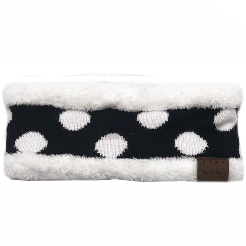 PD-HW-21 HEADWRAP Black White