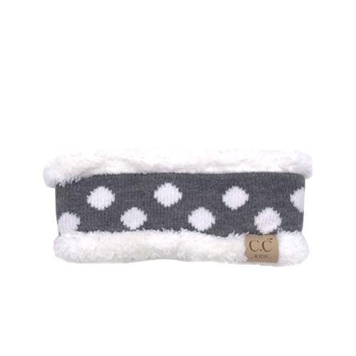 PD-HW-21 KIDS  HEADWRAP Lt Melange