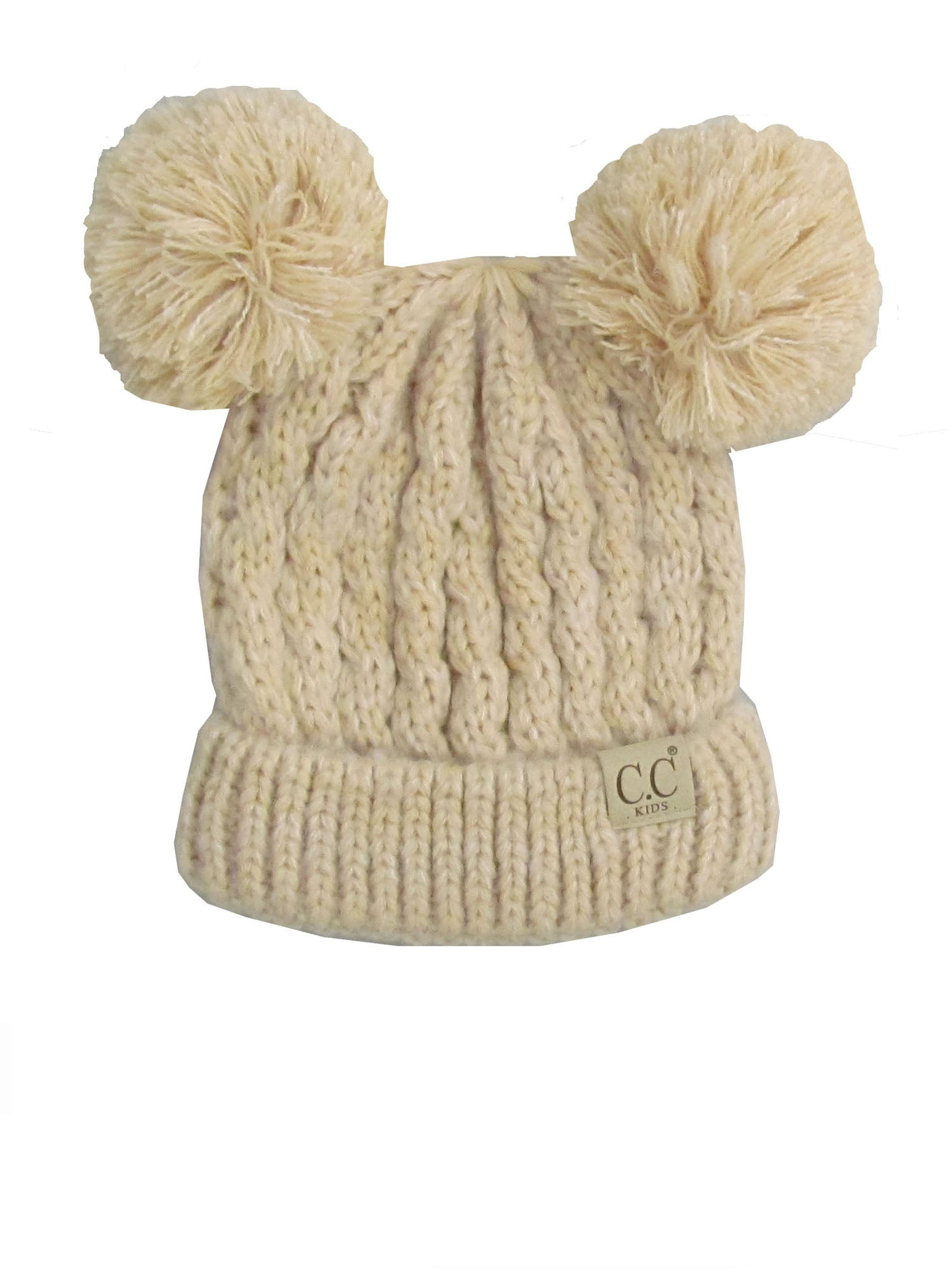 C.C Kid-23 Beige Youth Beanie