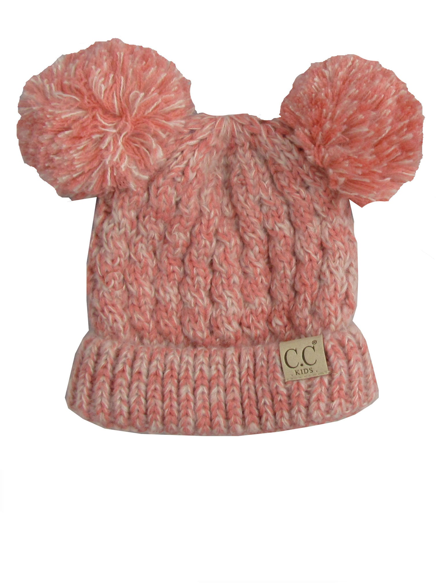 C.C Kid-23 Blush Peach Youth Beanie