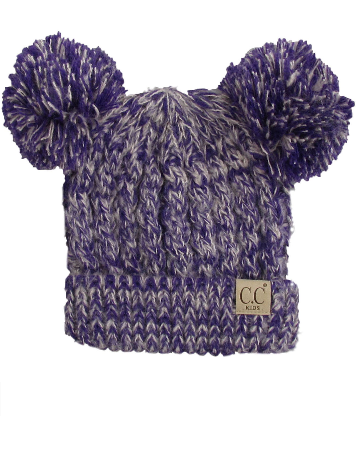 C.C Kid-23 Purple Youth Beanie