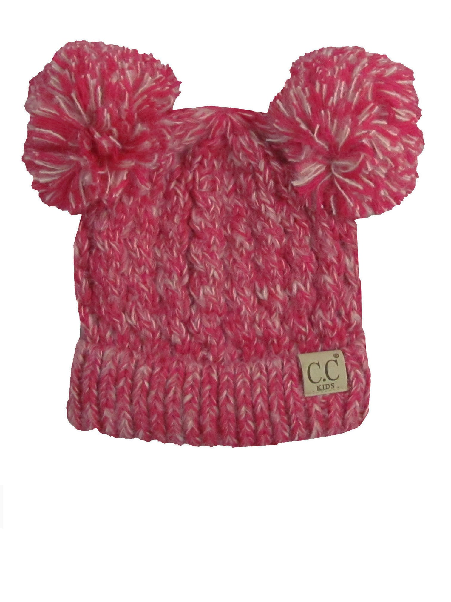 C.C Kid-23 Hot Pink Youth Beanie