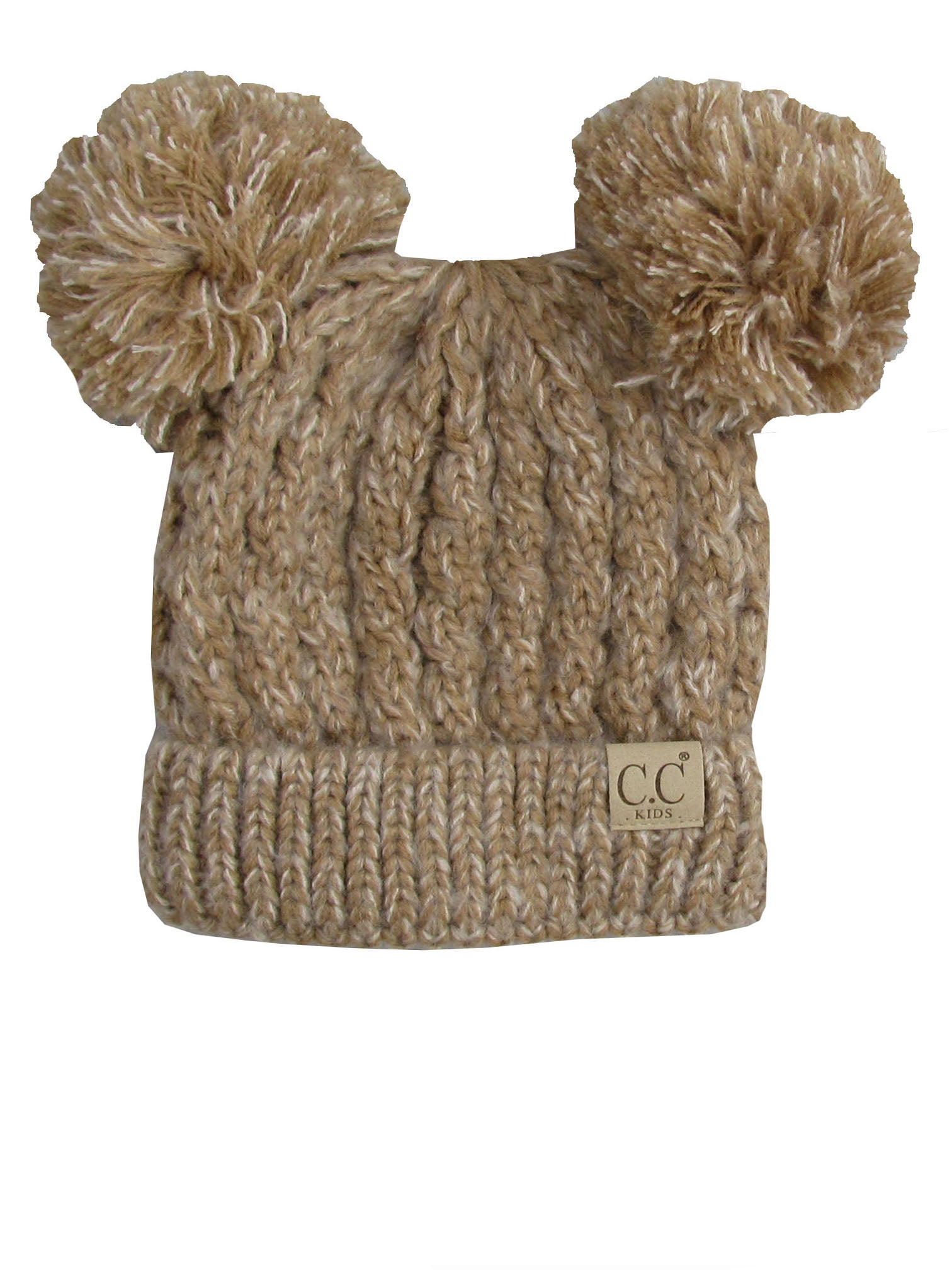 C.C Kid-23 Taupe Youth Beanie