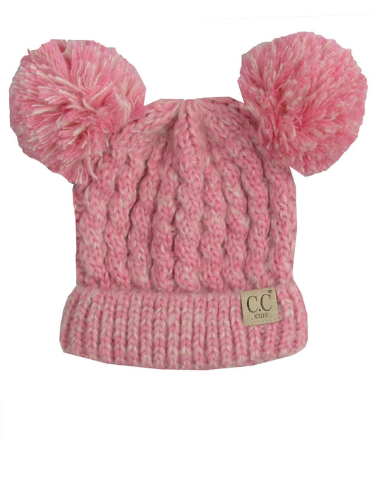 C.C Kid-23 Rose Pink Youth Beanie