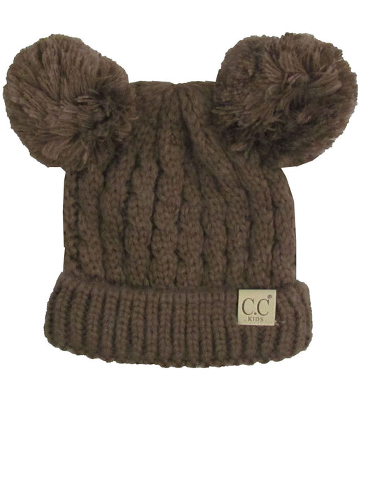C.C Kid-24 Brown Youth Beanie