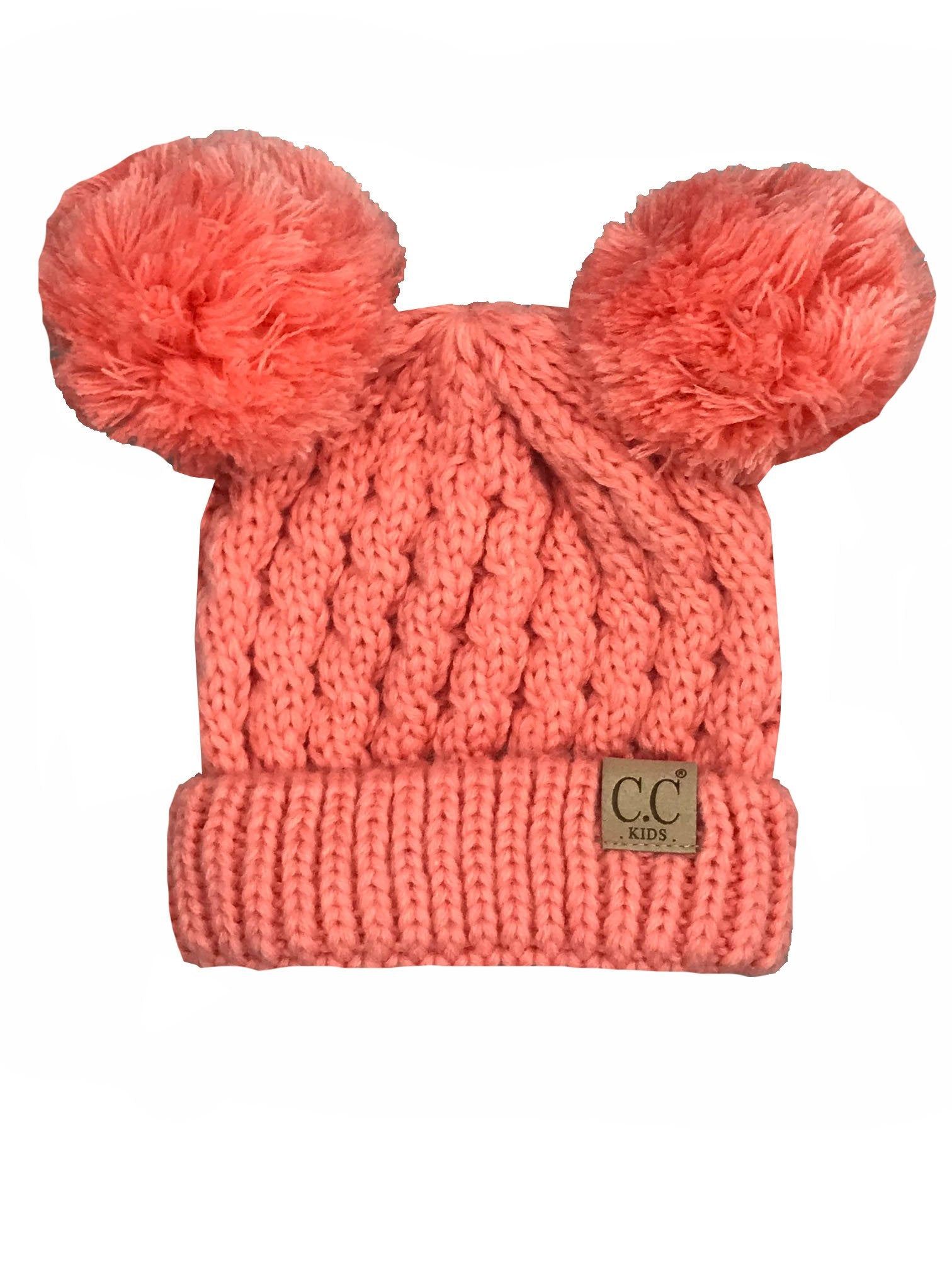 Kid-24 Coral Youth Beanie