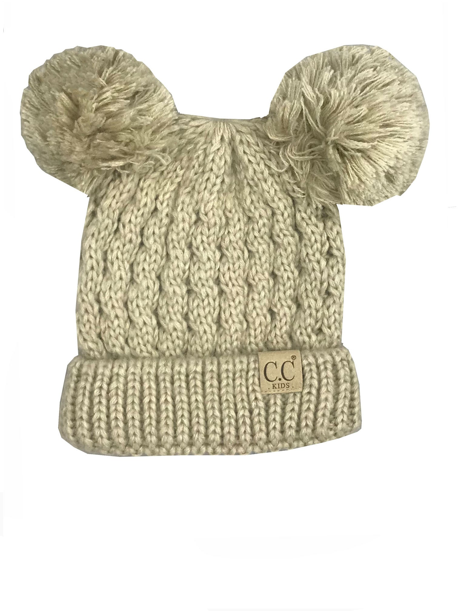 C.C Kid-24 Beige Youth Beanie