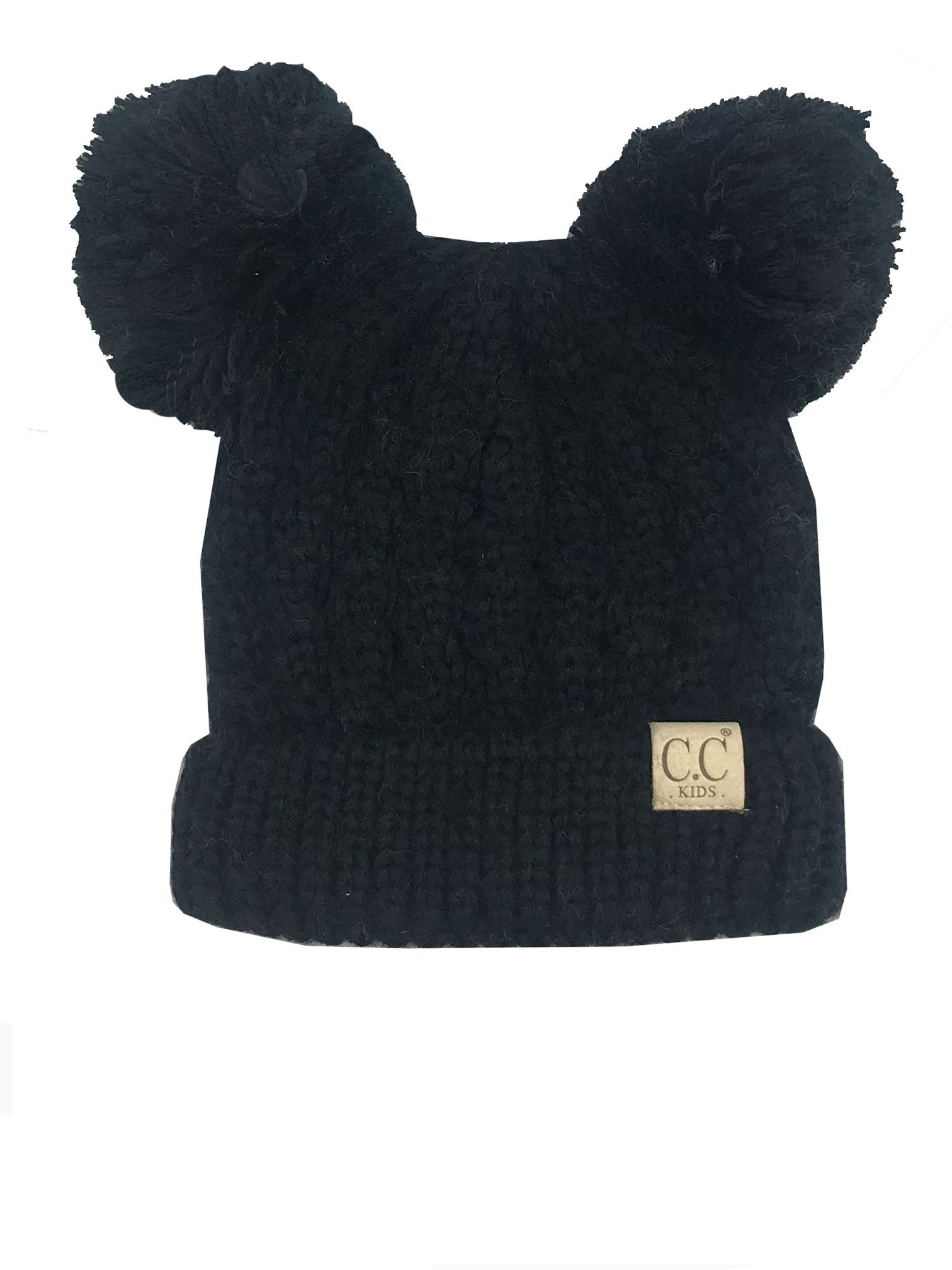C.C Kid-24 Black Youth Beanie
