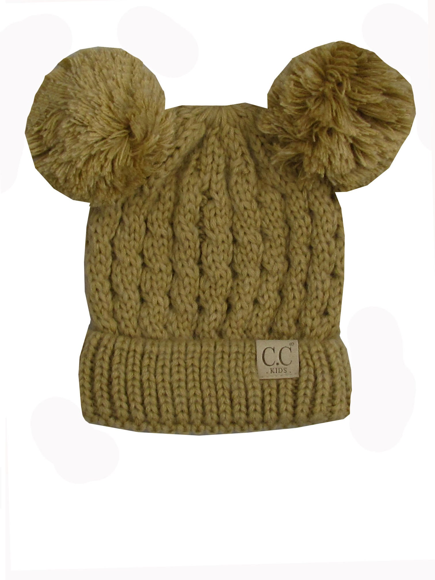C.C Kid-24 Camel Youth Beanie