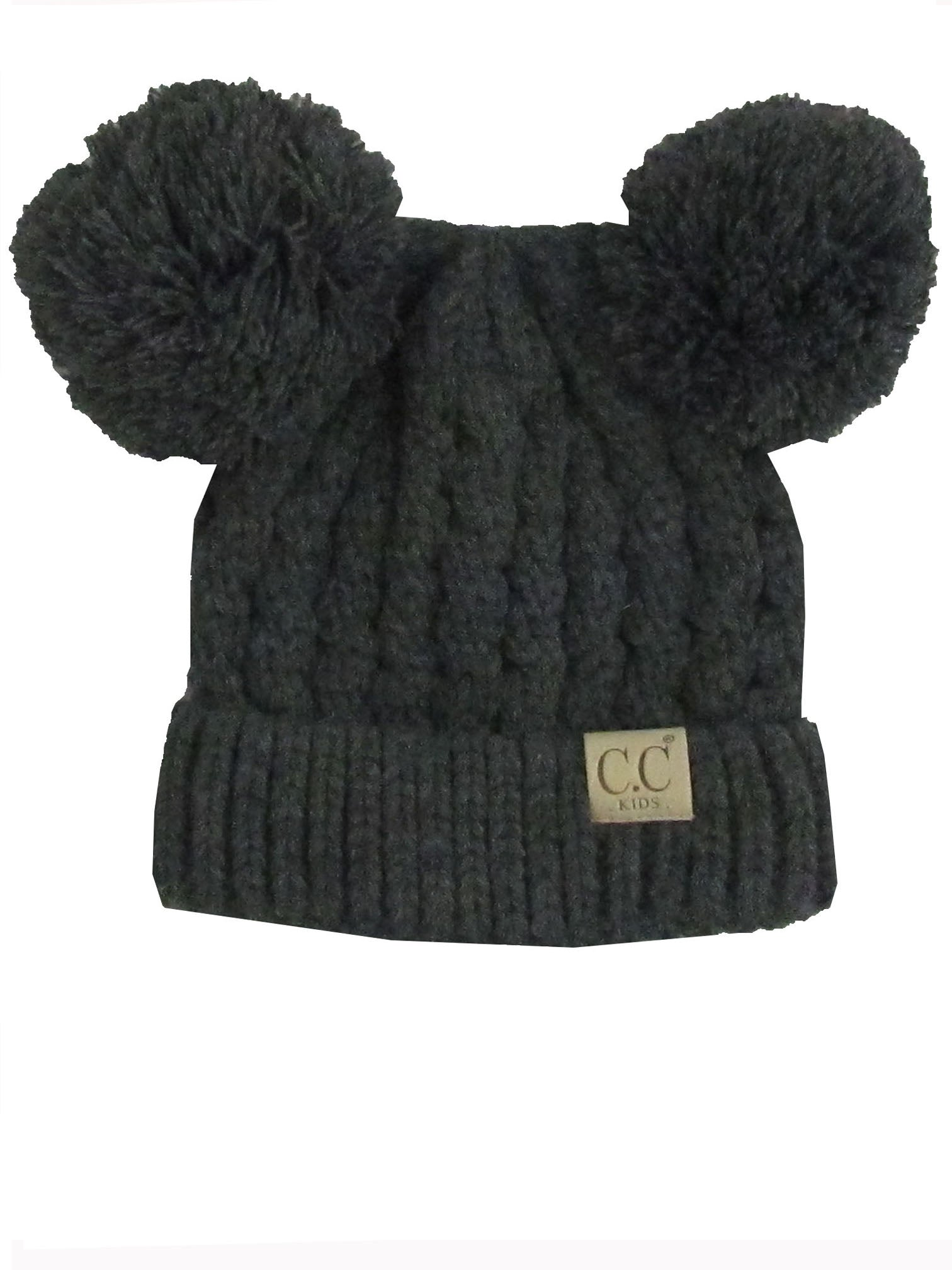 C.C Kid-24 Dark Melange Grey Youth Beanie