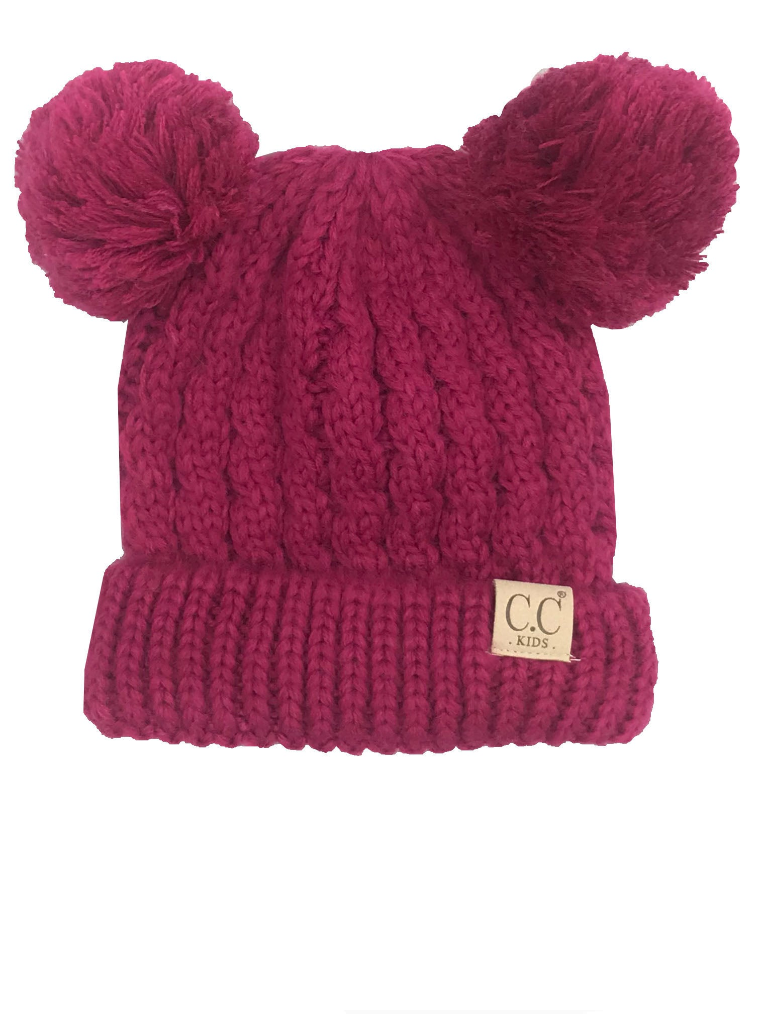 C.C Kid-24 Hot Pink Youth Beanie