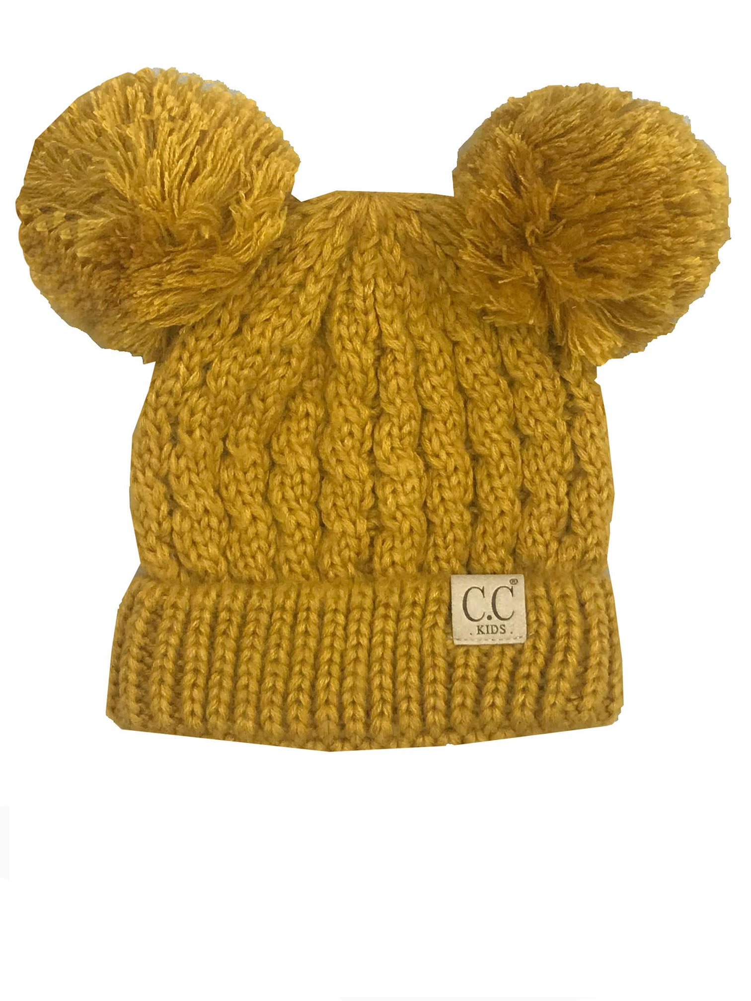 C.C Kid-24 Mustard Youth Beanie