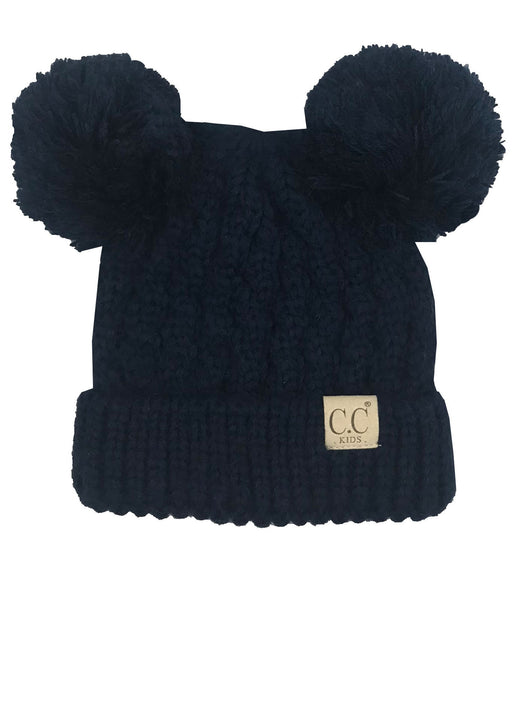 C.C Kid-24 Navy Youth Beanie