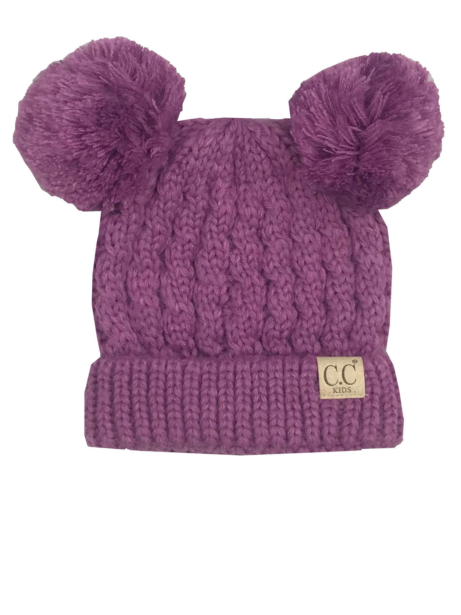 C.C Kid-24 New Lavender Youth Beanie