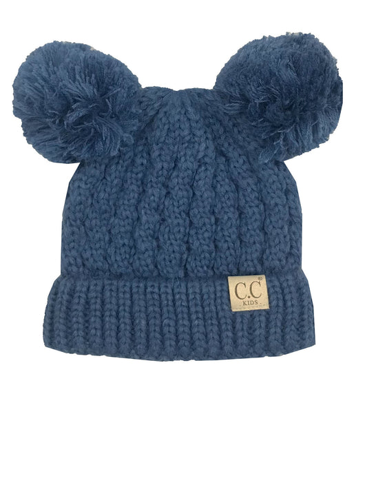 C.C Kid-24 Dark Denim Youth Beanie
