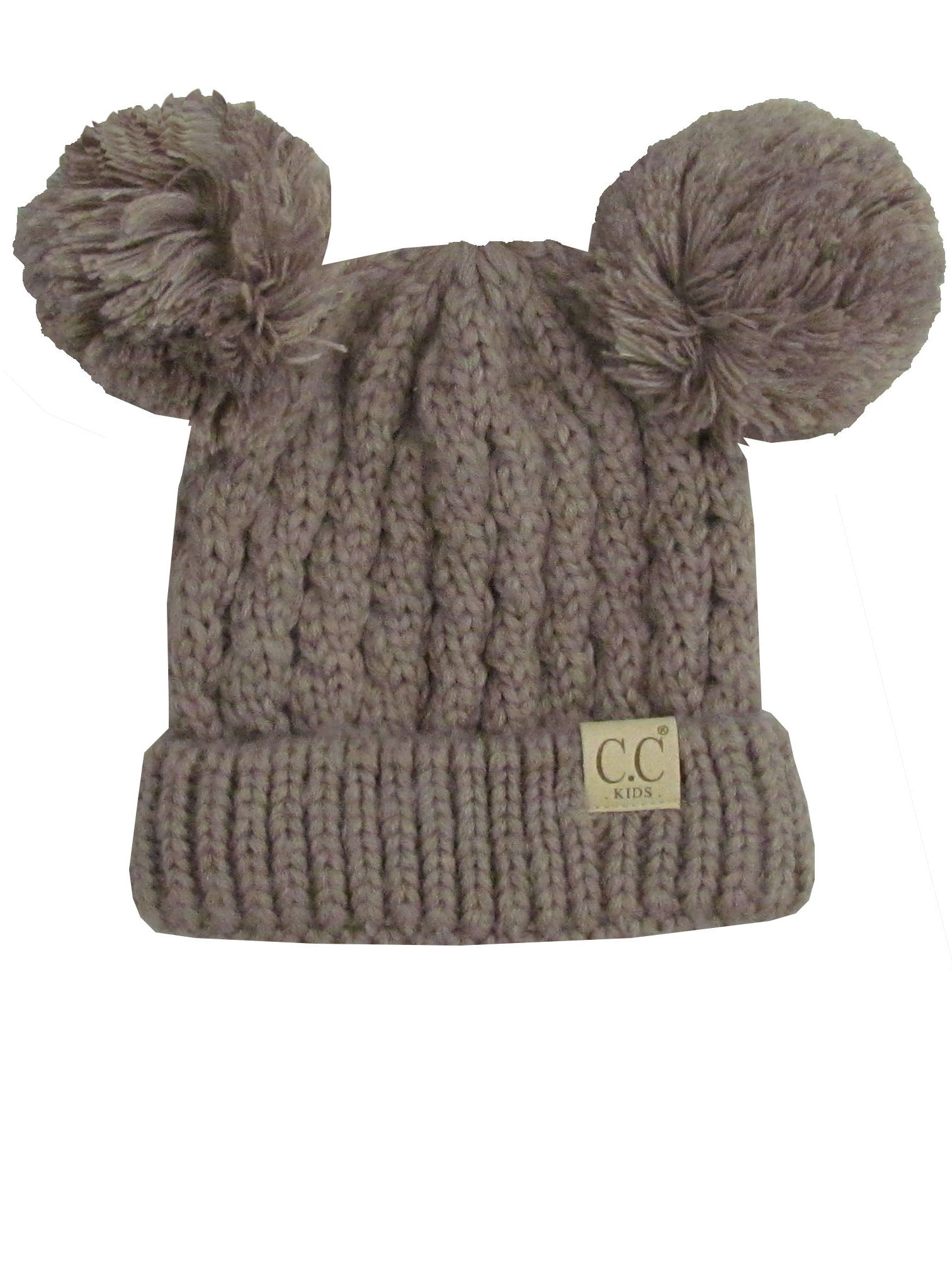 C.C Kid-24 Taupe Youth Beanie