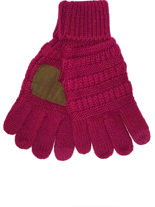 G-20-KIDS HOT PINK GLOVES