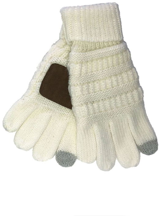 G-20-KIDS IVORY GLOVES
