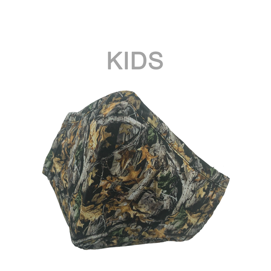 KIDS MASK CAMO TREE