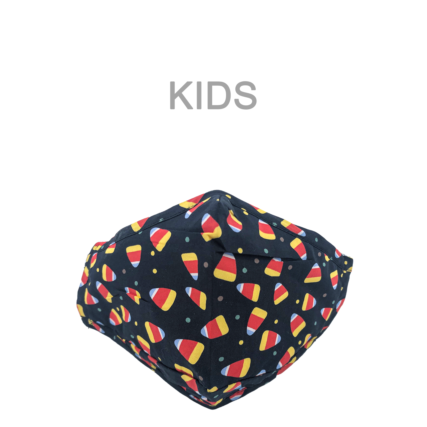 KIDS MASK CANDY CORN
