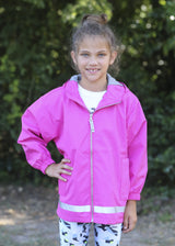 Raincoat Youth Hot Pink