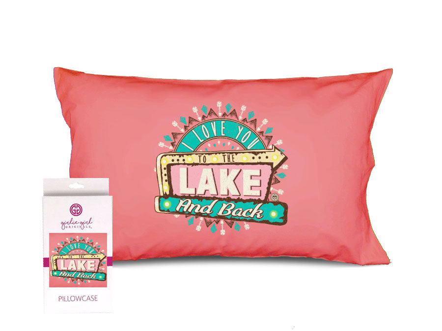 PC-Lake and Back Pillowcase