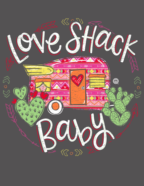 PC-Love Shack Pillowcase