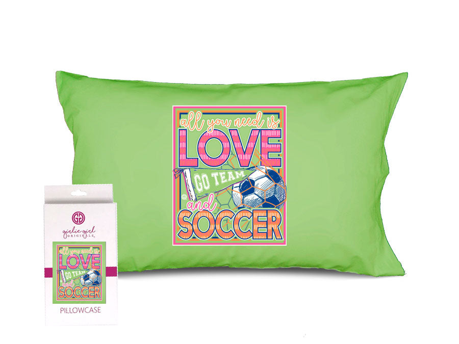 PC-Love Soccer Pillowcase
