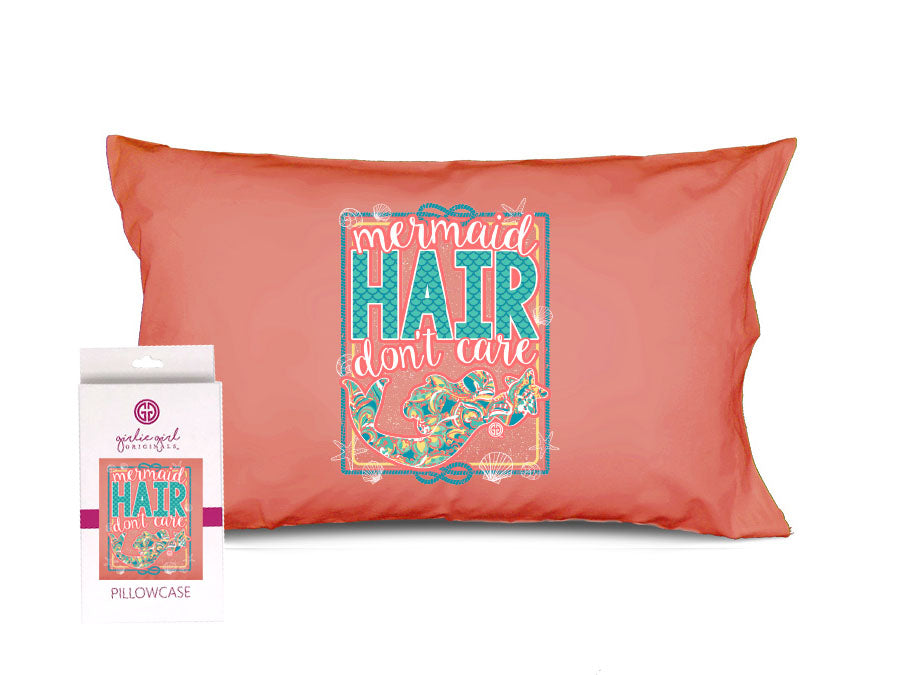 PC-Mermaid Hair Don't Care Pillowcase