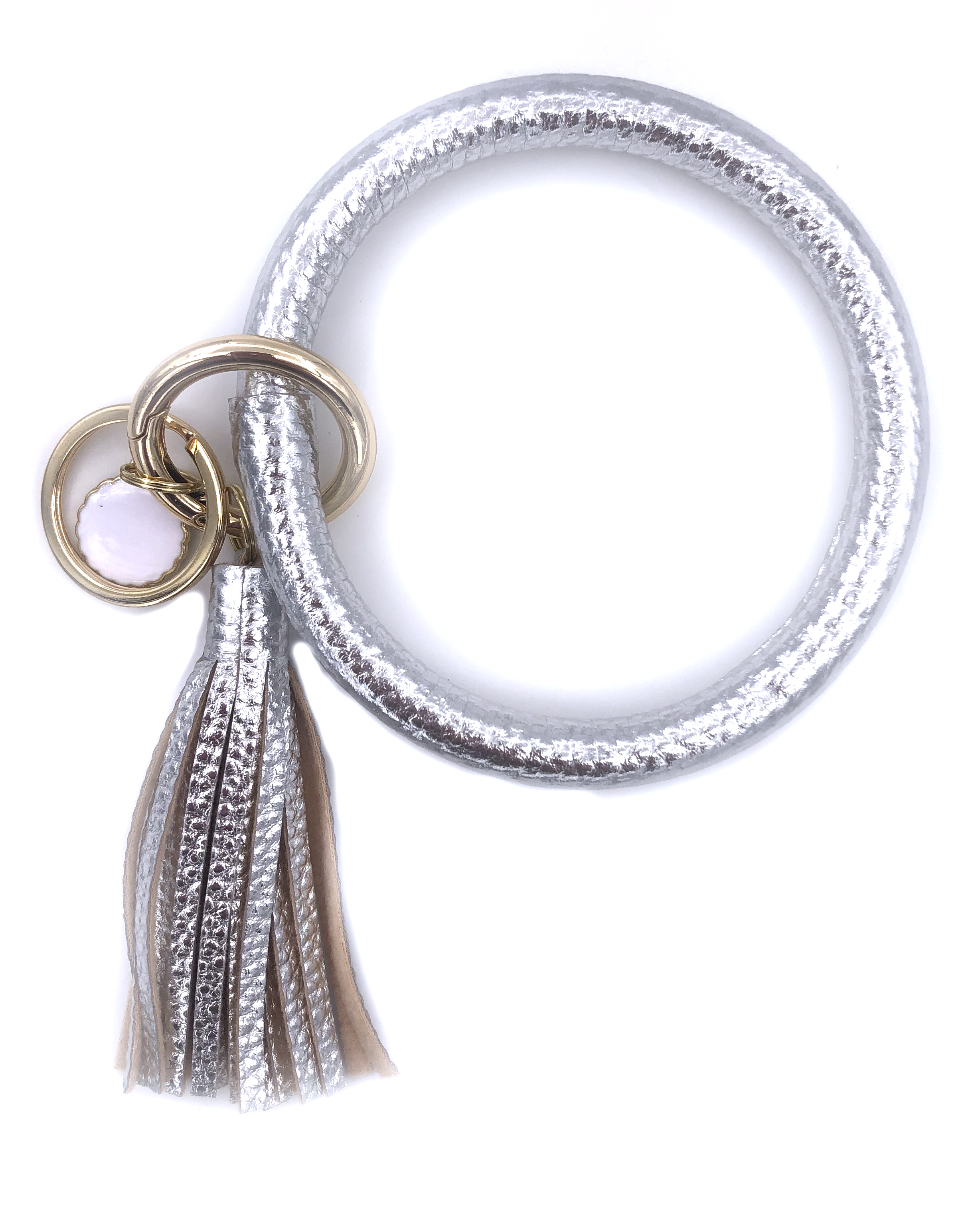 KC-8845 Metallic Silver Key Chain
